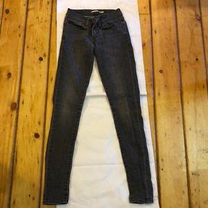 Dark grey Levis jeans